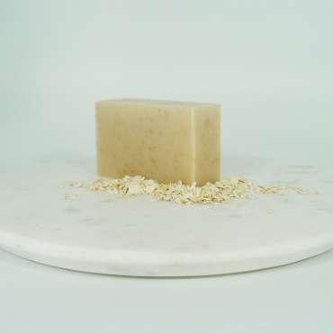 shea honey oat soap